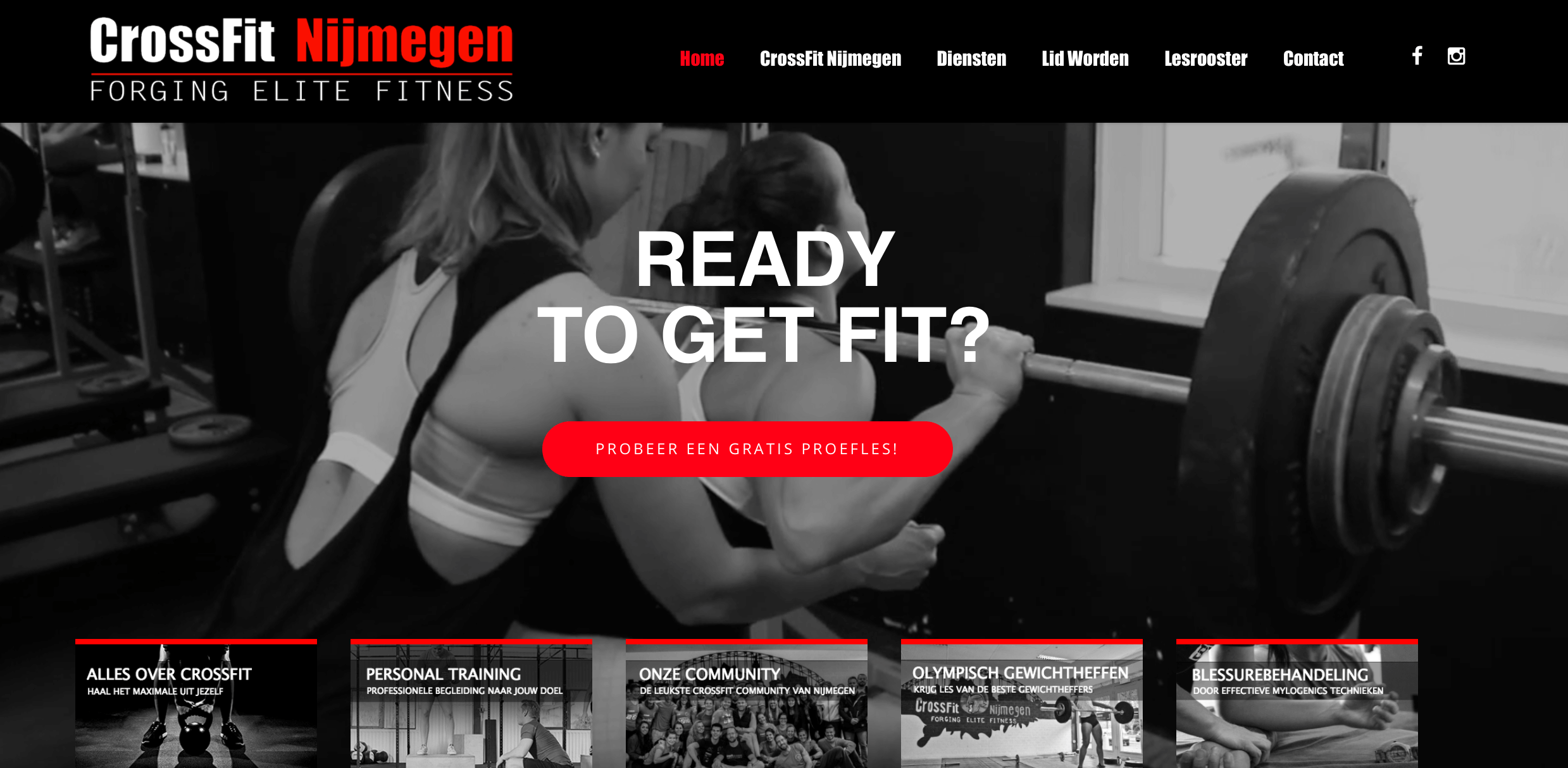 website crossfit nijmegen